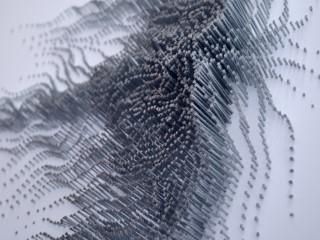 Non Representational Nail Sculpture