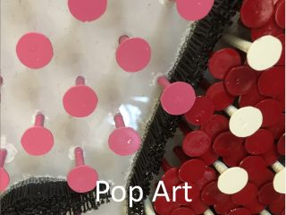 Pop Art Nail Sculpture